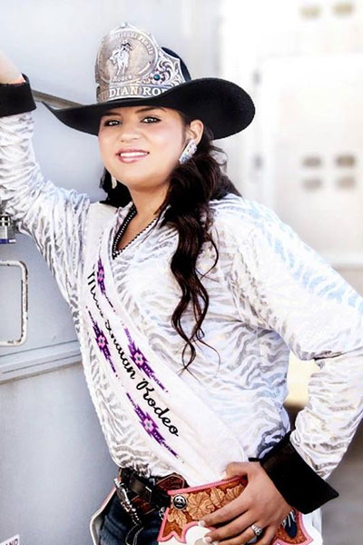 Devalyn Crowe - Miss Indian Rodeo 2015