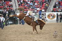 Cody Parker, Bareback Champion - Indian National Finals Rodeo 2017