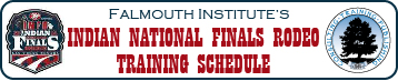 INFR Training Schedule