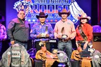 Ed Hawley and Myles John, Team Roping 2018 INFR World Champions