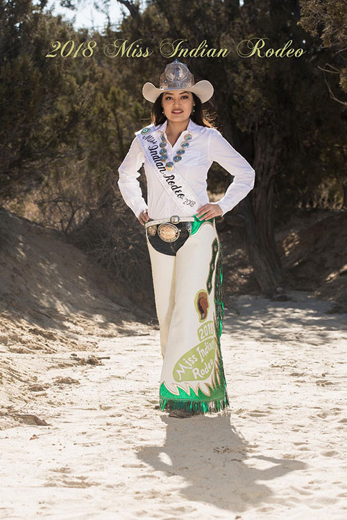 Miss Indian Rodeo 2018