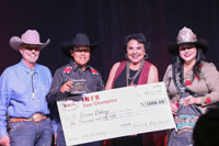 2019 Indian National Finals Rodeo Back Number Ceremony